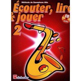Ecouter Lire et Jouer - Méthode Volume 2 - Saxophone alto